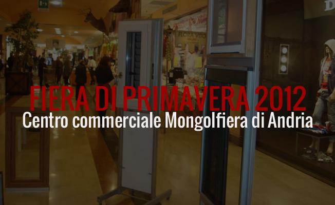 fiera di primavera 2012 centro commerciale mongolfiera ipercoop Andria