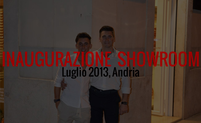 inaugurazione showroom Andria 2013