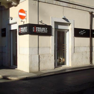 Showroom project profili Andria - esterno