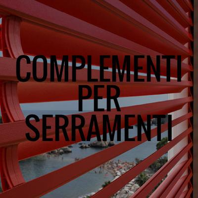 complementi e accessori per serramenti