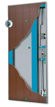 porta blindata Entry (classe 2)